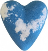 Blue Jay Heart Bath Bomb