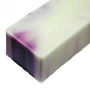 Lotus Flower Swirl Handmade Soap