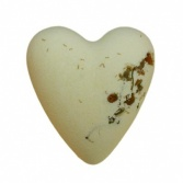 Purely Chamomile Heart Bath Bomb