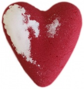 Red Robin Heart Bath Bomb