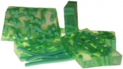 Lime and Ginger Squiggle Soap