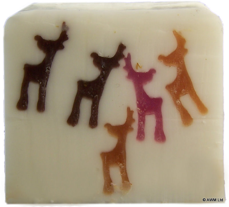Reindeer Christmas Trendy Soap