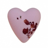 Shebas Rose Heart Bath Bomb