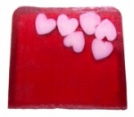 Blissful Hearts Trendy Soap